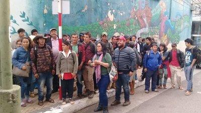 Campesinos de la CNI exigen a MAG cumplir acuerdo de reactivación productiva