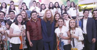 Cantante de Megadeth  suspende gira por cáncer