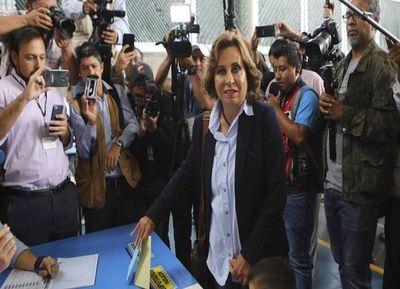 Guatemala irá a un balotaje, en agosto
