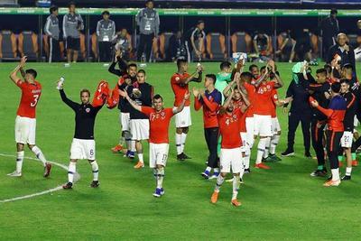 El campeón de la Copa América aplastó en su debut a Japón