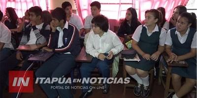 CAMPAÑA DE DOCUMENTACIÓN DE NIÑOS EN ESCUELAS DE ITAPÚA.