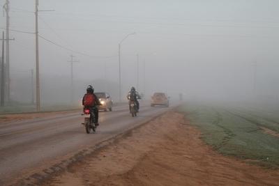 Inicio de semana fresco y lluvioso en gran parte del país