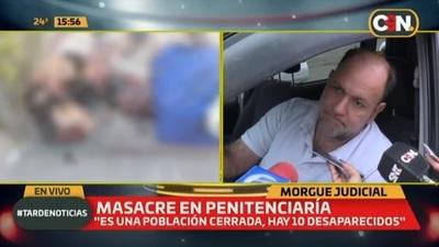 Masacre en cárcel: Identifican restos y detallan causa de muerte