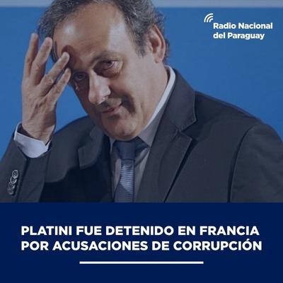 Michel Platini detenido en París por supuestos sobornos para adjudicar el Mundial de Qatar