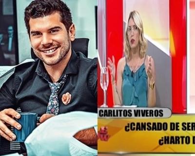 """Carmiña filosa sobre Carlos Viveros: """"eso pasa cuando tenes el cul* sucio"""""""