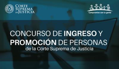 CSJ llama a concurso para cargos vacantes en Caazapá y Guairá