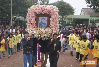 Se inició hoy la Novena en honor a nuestra Madre del Perpetuo Socorro