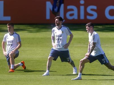 Scaloni perfila el equipo para el juego contra Paraguay