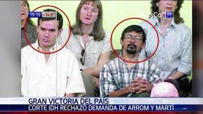 Corte IDH rechaza demanda de Arrom y Martí: Gran victoria para el país