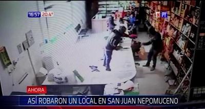Asalto a distribuidora en San Juan Nepomuceno