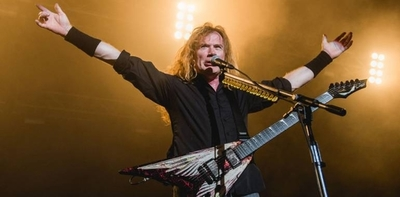 HOY / Metaleros consternados: David  Mustaine, líder de Megadeth: 'Me  diagnosticaron cáncer de garganta'