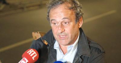 Platini: Arrestado… y liberado