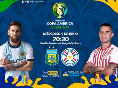 Paraguay va por su primer triunfo en la Copa América de Brasil