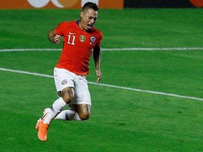 Eduardo Vargas bate récords en Chile y se acerca a Méndez y Zizinho