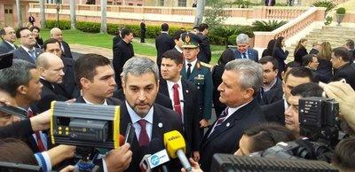 IPS: Benigno López va a tener que salir si hay irregularidades, dice Abdo