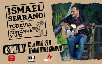 Ismael Serrano vuelve a Paraguay