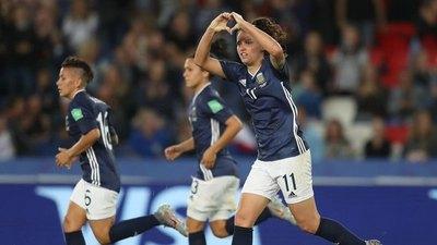 Histórica remontada de Argentina contra Escocia