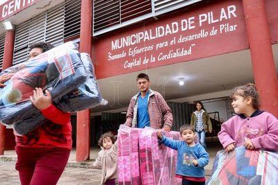 Unión Europea entregó 200.000 euros para familias damnificadas