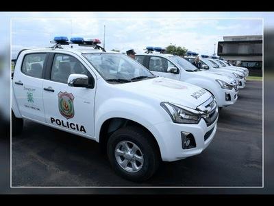 EBY entrega nuevas patrulleras a Policía Nacional