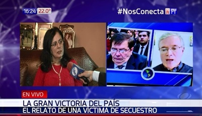 """María Edith: """"Arrom y Martí deben pagar por lo que me hicieron"""""""
