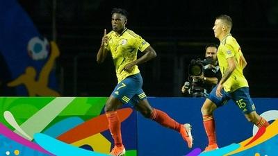 Colombia con lo justo derrotó a una dura Qatar