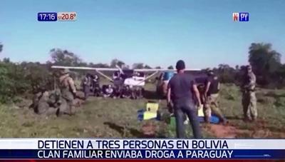 Detienen a bolivianos que enviaban droga a Paraguay