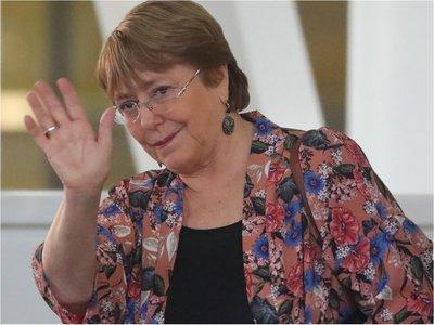 Michelle Bachelet llega a Venezuela para constatar derechos humanos