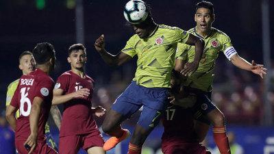 Colombia logra agónico triunfo y clasifica a cuartos de final