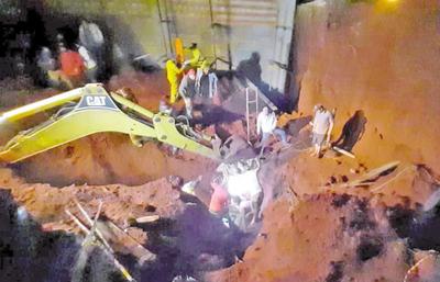 Un muerto tras derrumbe en obra