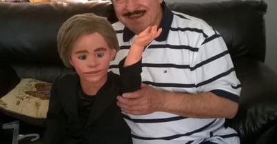 Cachito despidió a su eterno papá
