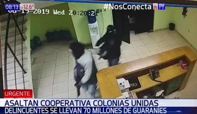 Asalto tipo comando en cooperativo de Fernando de la Mora