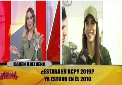 La incómoda pregunta de Dahiana a Karen Brizueña