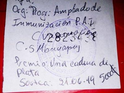 No tienen fondos para vacunar en Mbuyapey