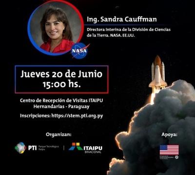Científica de la NASA dará conferencia, en Hernandarias