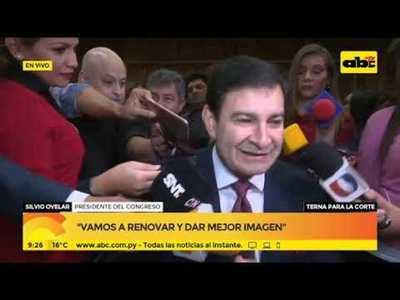 Silvio Ovelar: Vamos a renovar y a dar mejor imagen