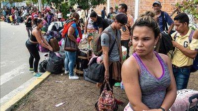 Los desplazados en el mundo ya llegan a un récord de 70,8 millones