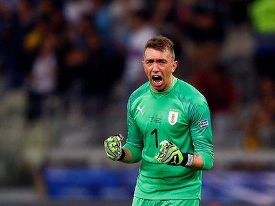 El récord de Muslera con Uruguay en la Copa América