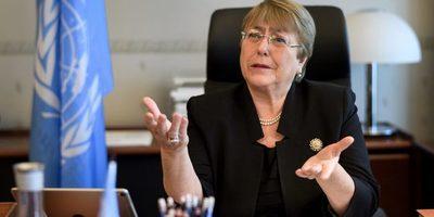 Bachelet se reunió con familiares de víctimas de represión de régimen de Maduro