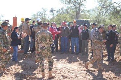 Registran 16,9 km de limpieza en línea fronteriza con Bolivia