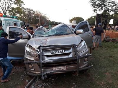 Accidente rutero en Arroyito se cobra la vida de un joven