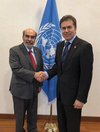 Canciller resalta cooperación de la FAO con el Paraguay