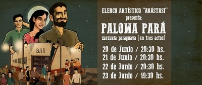 """Zarzuela """"Paloma Pará"""" sube a escena este fin de semana en el Municipal"""