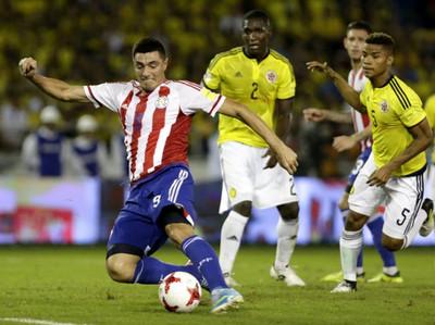 El último enfrentamiento entre Paraguay y Colombia