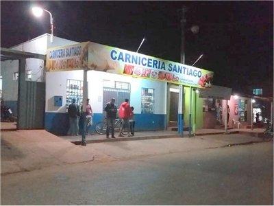 Matan a balazos a un hombre en una carnicería en Pedro Juan Caballero