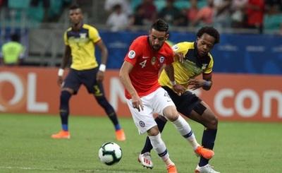Chile triunfa ante Ecuador y está en cuartos