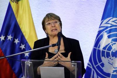 Bachelet pidió liberar a detenidos por ejercer derechos civiles en Venezuela