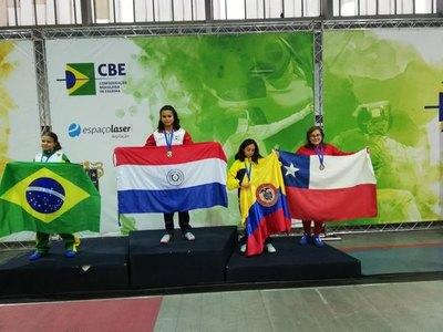 Luciana García ganó el oro en Sudamericano de esgrima