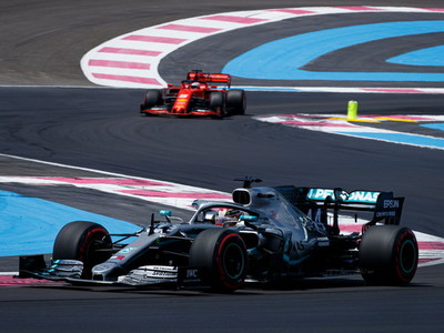 Lewis Hamilton saldrá desde la pole en Le Castellet