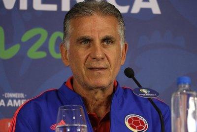 Carlos Queiroz apunta a Paraguay