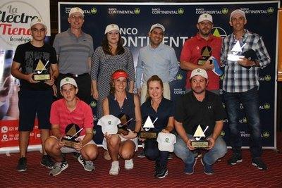 Vierci y Fernández se imponen en la Copa Banco Continental